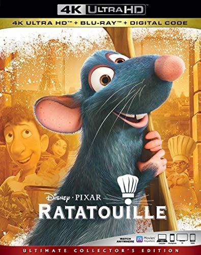 4K Blu-ray : Ratatouille (2 Discos)