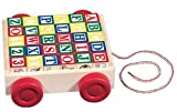 Melissa &amp; Doug Classic ABC Block Cart
