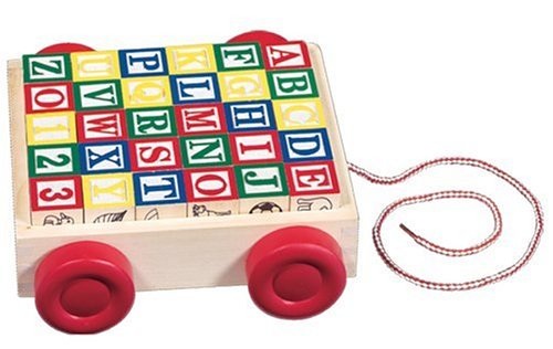 Melissa and Doug Classic ABC Block Cart - Buy Melissa and Doug Classic ABC Block Cart - Purchase Melissa and Doug Classic ABC Block Cart (Melissa & Doug, Toys & Games,Categories,Preschool,Pre-Kindergarten Toys)
