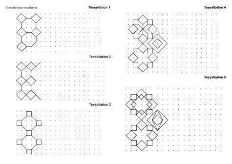 Tips  Lessons  Tessellations  kun  Tesselation