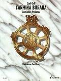 Carmina Burana: Cantiones profanae. Soli (STBar), gemischter Chor (SATB), Kinderchor und Orchester. Klavierauszug. title=