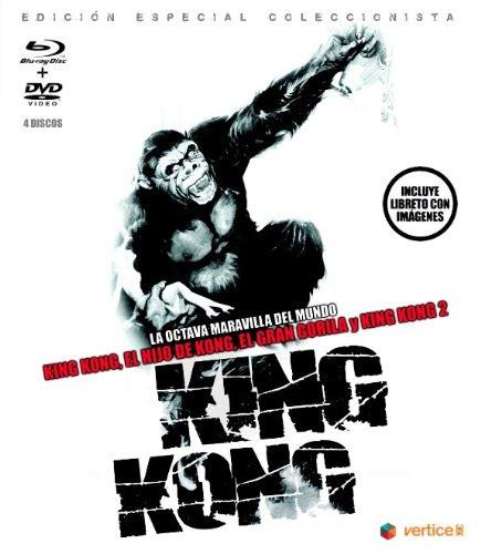 King Kong - Edición Especial Coleccionista (Incluye Libreto) [Blu-ray]