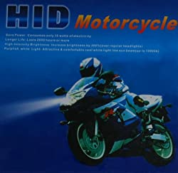 8000K BLUE HID HEADLIGHT KIT H4 HARLEY-DAVIDSON FXSTSB Bad Bay 96-97