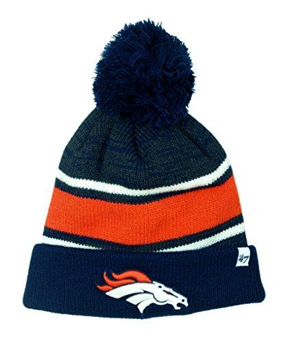 Broncos Stocking Hat: Denver Broncos Abomination Knit Hat, Broncos Tassel Beanie