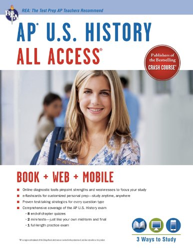 Ap® U.S. History All Access Book + Online + Mobile (Advanced Placement (Ap) All Access)
