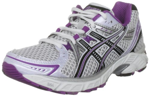 ASICS Women's Gel 1170 White/Black/Plum Trainer T1P5N 0190 3 UK