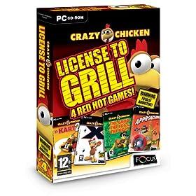 Crazy Chicken: License Grill