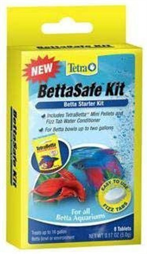 Tetra 77342 BettaSafe Kit Tablets, 8-Count (Betta Safe Water Conditioner compare prices)