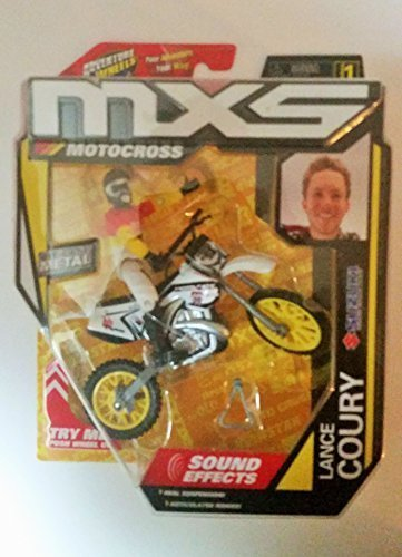 MXS Motocross Lance Coury Series 1 Adventure Wheels Sound Effects (Effect Wheels compare prices)