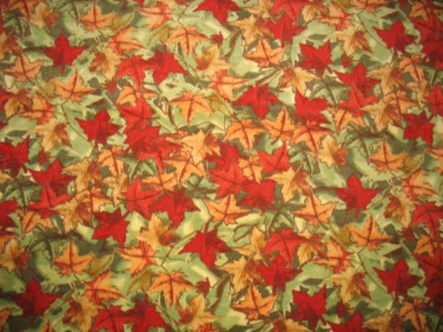 Foliage Leaves Camo Fleece Throw Blanket front-510497