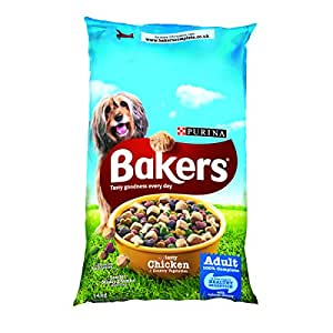 Bakers Complete with Tasty Chicken and Country Vegetables Dog Food 14 kg