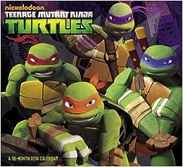 2014 Teenage Mutant Ninja Turtles Wall Calendar: Nickelodeon
