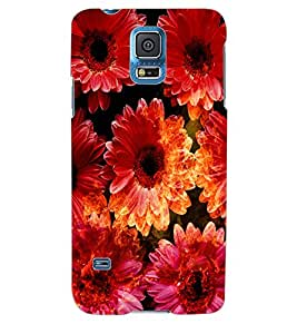 ColourCraft Flower Back Case Cover for SAMSUNG GALAXY S5