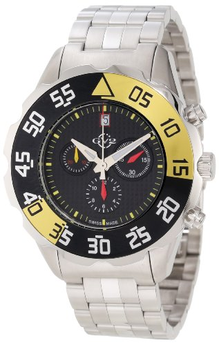 GV2 by Gevril Men's 3000B Parachute Chronograph Bracelet Date Watch
