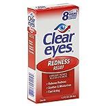 Clear Eyes Eye Drops, Redness Relief, 1 fl oz (30 ml)