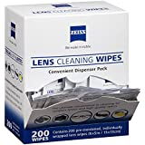 Zeiss Pre-Moistened Lens Cloths Wipes 200 Ct (2 Boxes)