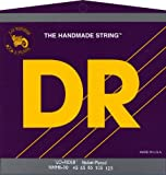 DR Strings Nickel Lo-Rider - Nickel Plated Hex Core 6 String Bass 30-125