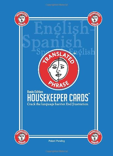 House Cleaning Cards Basic Edition, English-to-Spanish (Spanish Edition) (English and Spanish Edition)