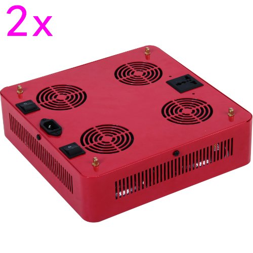 Goledgo 2Pcs Lot ($400/Pc+$0.0 Shipping) Square 200W Cob Led Plant Grow Light R/B/W Ac85-265V, Handing(0-5Days)+4Days Ship 2 U From Factory By Dhl