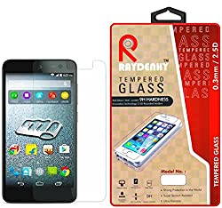 Raydenhy 2.5D Curved Edges 0.33MM Thickness Tempered Glass For Micromax Canvas Xpress 2 E313
