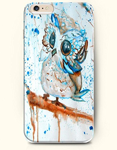 Cute Owl Paint - Oil Painting - Phone Cover for Apple iPhone 6 ( 4.7 inches) - OOFIT Authentic iPhone Case