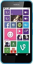 Microsoft Lumia 630 Smartphone Dual-SIM (11,4 cm (4,5 Zoll) Display, 8GB interner Speicher, Win 8.1) cyan