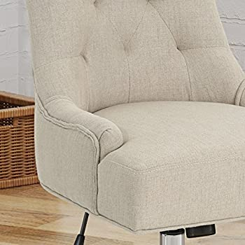 Bagnold Home Office Fabric Desk Chair, Wheat