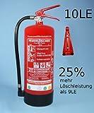 6kg Pulver Feuerlöscher 10LE mit Manometer und Instandhaltungsnachweis von Feuerlöscher-Tauschsystem
