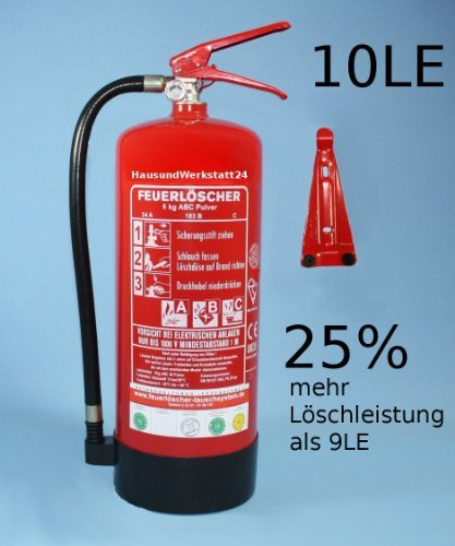 6kg-Pulver-Feuerlscher-10LE-mit-Manometer-und-Instandhaltungsnachweis-von-Feuerlscher-Tauschsystem