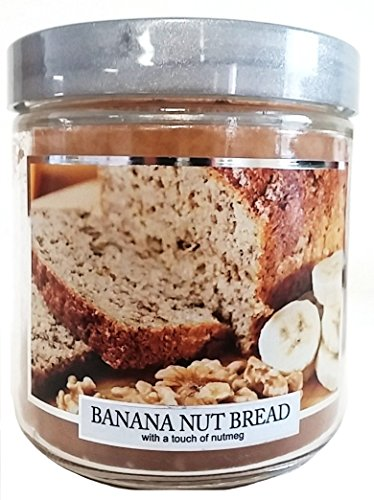 Carousel Candles Banana Nut Bread Jar Candle, 12-Ounce (Banana Nut Bread Candle compare prices)