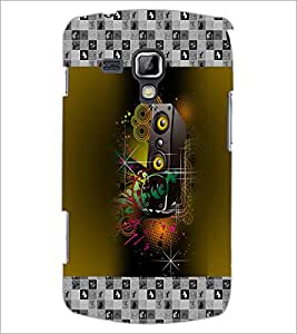 PrintDhaba Abstract Design D-3178 Back Case Cover for SAMSUNG GALAXY S DUOS 2 S7582 (Multi-Coloured)
