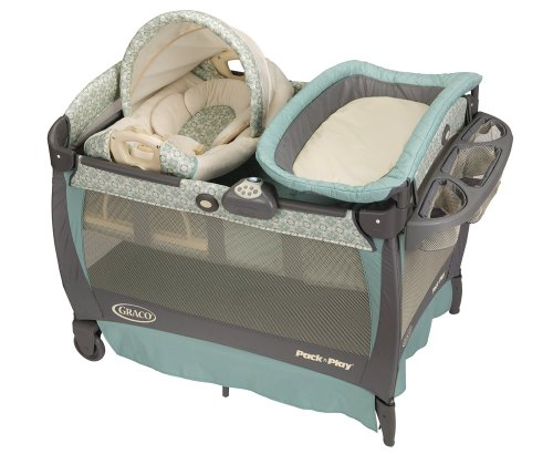 Find Discount Graco Pack 'n Play Playard with Cuddle Cove Rocking Seat, Winslet