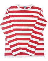 Toolboxclothing Unisex Lightweight Adult Striped Crew Neck