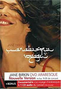 Jane Birkin : Arabesque (inclus 1 CD Audio)