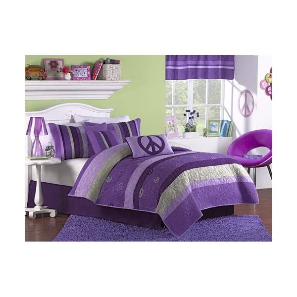 Peace Sign Bedroom Accessories: Peace Sign Bedding