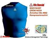 McDavid (マクダビッド) プレミアム スリーブレス ボディシャツ クルーネック 紺 Sサイズ