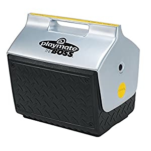 cooler igloo playmate personal coolers plastic quart industrial lowes diamond plate exterior ice wheels kitchen lunch electric boss ball qt