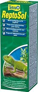 Tetra 780224 ReptoSol, hochwertiges flüssiges Vitamin- Ergänzungsfutter für alle Reptilien, 50 ml