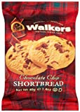 Walkers Shortbread Chocolate Chip (1.4-Ounce), 2-Count Cookies (Pack of 24)