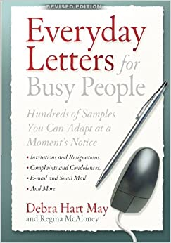 Everyday Letters For Busy People Revised Edition Debra