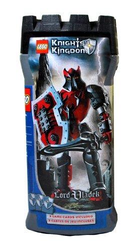 Lego Year 2005 Knights Kingdom Series 7 1/2 Inch Tall Figure Set #8795 Evil Knight Lord Vladek With Scorpion Sneak...