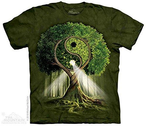 The Mountain T-Shirt Yin Yang Tree 5Xl