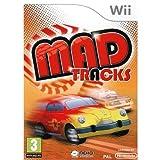 MAD TRACKS & STEERING WHEEL BUNDLE on Nintendo Wii