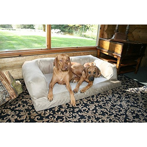 xxl-dog-bed-orthopedic-foam-sofa-couch-extra-large-size-great-dane-creme-by-hidden-valley