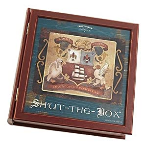 Shut the Box Bookshelf Game