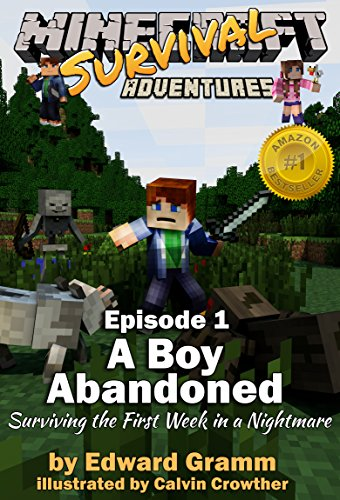 Minecraft Interactive - Minecraft: A Boy Abandoned: Surviving the First Week in a Nightmare (Minecraft Survival Adventures Book 1)