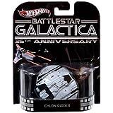 Hot Wheels Retro Battlestar Galactica 35th Anniversary 1:64 Die Cast Vehicle Cylon Raider