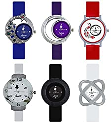 Frida Diwali Special/ Navratri Special Multicolor Combo Watches For Girls and Womens
