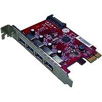 Mediasonic HP1-U34F PCI Express USB 3.0 PCI Express Card
