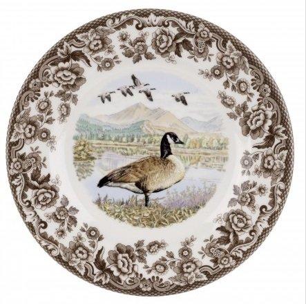 Spode Woodland - Canada Goose Dinner Plate